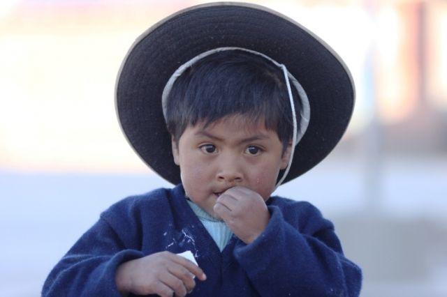 Zdjęcia: Wioska Nogachi, Chłopiec, BOLIWIA