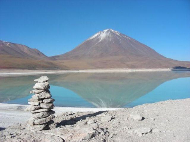 Zdjęcia: pogranicze Boliwia-Chile, stan Potosi, volcano, BOLIWIA