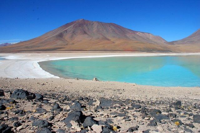 Zdjęcia: Laguna Verde, Salar de Uyuni, Laguna Verde, BOLIWIA