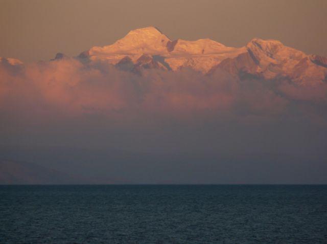 Zdjęcia: Isla del Sol, widok z Isla del Sol, BOLIWIA