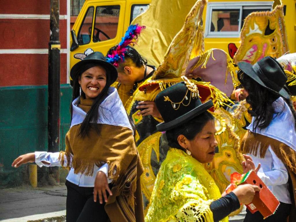 Zdjęcia: oruro, oruro, pre-karnawal w oruro, BOLIWIA