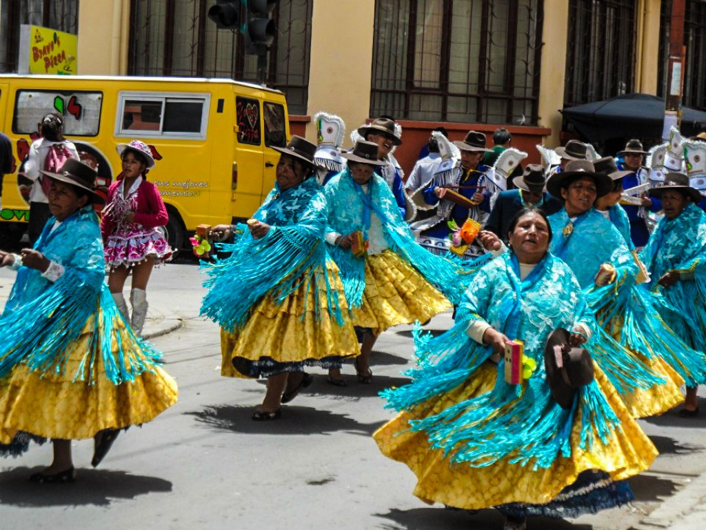 Zdjęcia: oruro, oruro, pre-karnawal 2, BOLIWIA