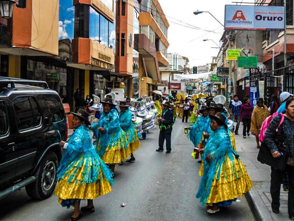 Zdjęcia: oruro, oruro, pre-karnawal w oruro 5, BOLIWIA