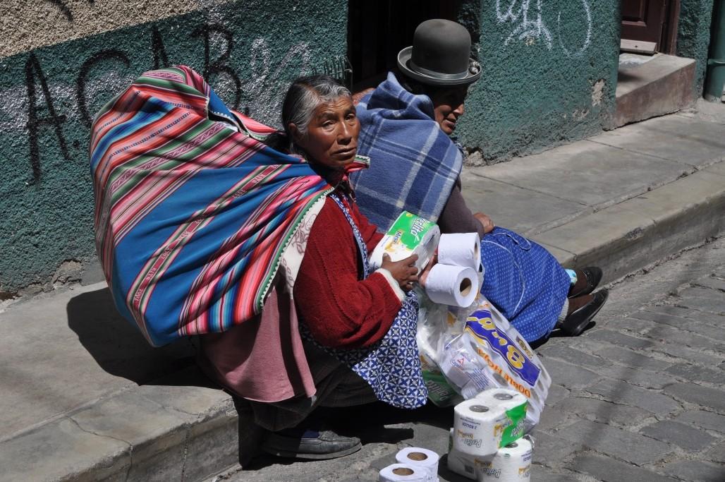 Zdjęcia: La Paz, La Paz, Na ulicy w La Paz, BOLIWIA