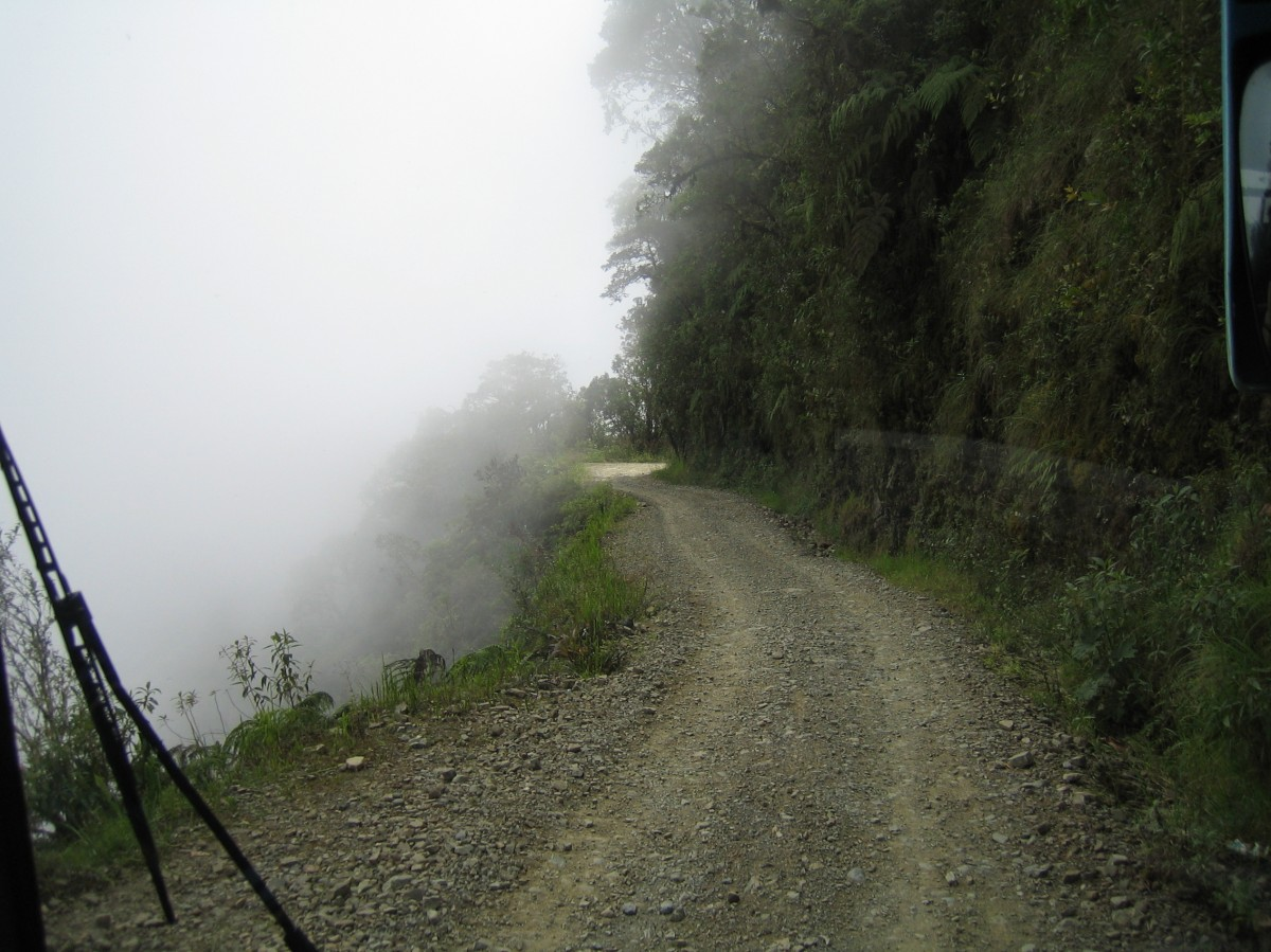 Zdjęcia: El Camino de la Muerte, Dolina Yungas, Droga śmierci, BOLIWIA