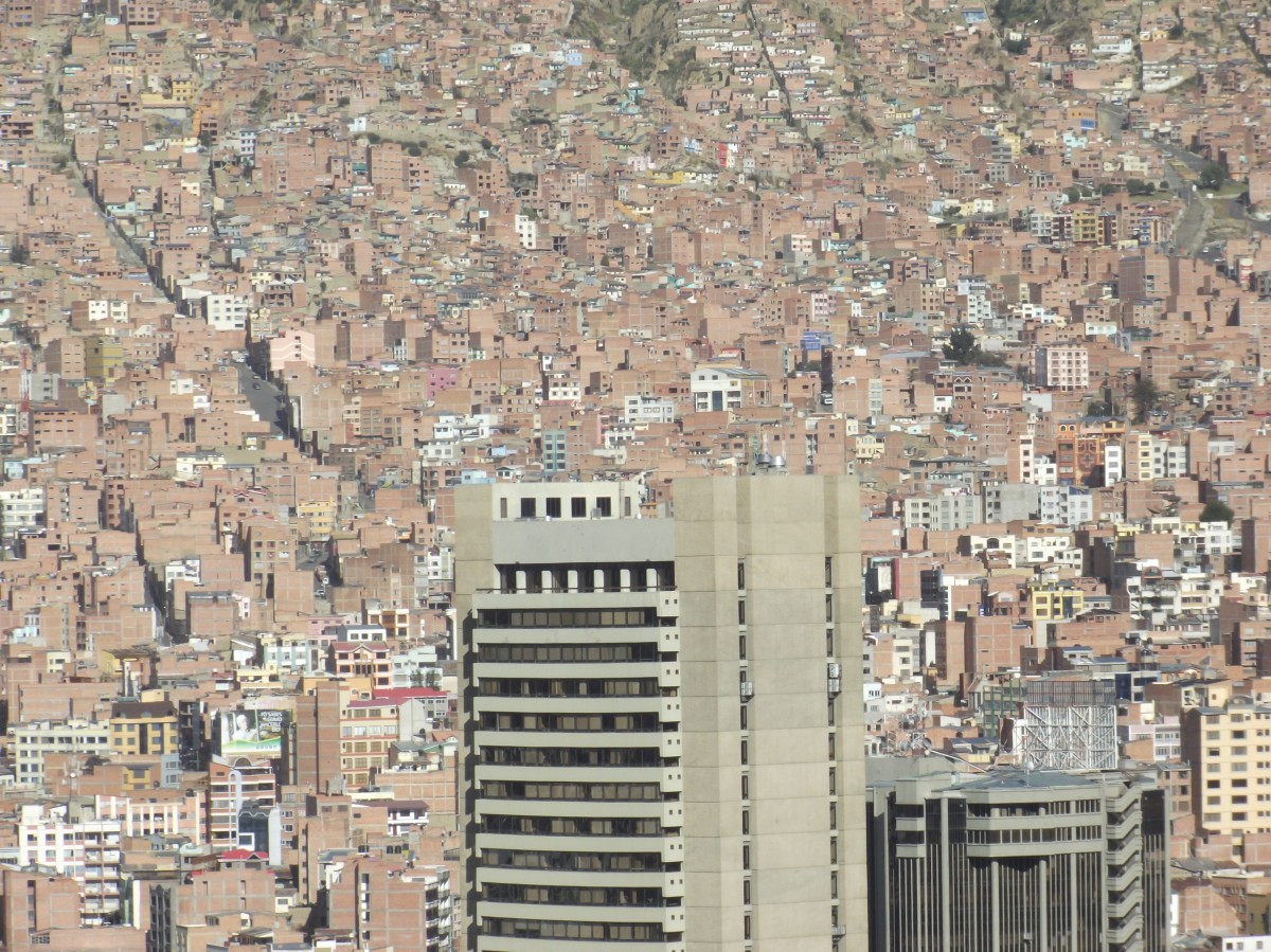 Zdjęcia: La Paz, La Paz, Przeludnienie?, BOLIWIA