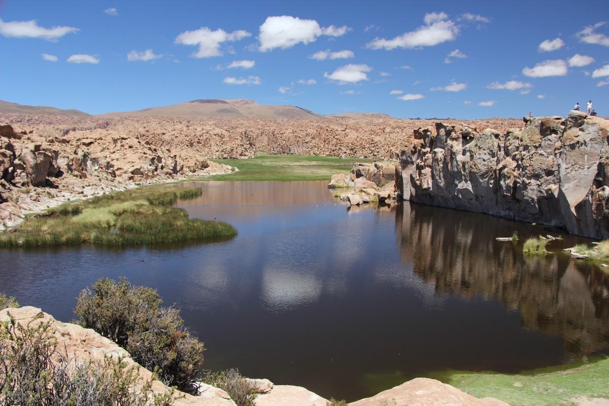 Zdjęcia: Boliwia, Salar, Zaginiona Laguna, BOLIWIA