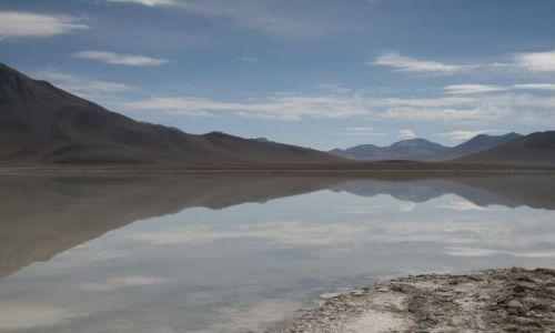 Zdjęcie BOLIWIA / Altiplano / Solar / Jak w lustrze