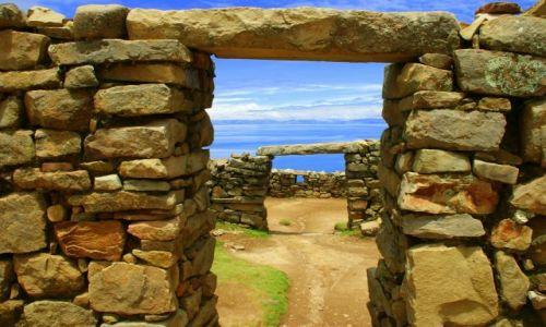 Zdjecie BOLIWIA / Titikaka / Titikaka / Wyspa słńca