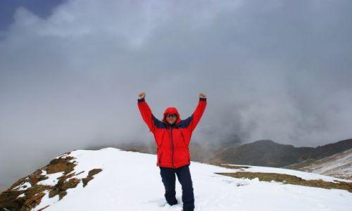 Zdjecie BOLIWIA / okolice  La  Paz / okolice  La  Paz / Na szczycie Chacaltaya