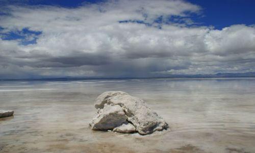 Zdjęcie BOLIWIA / Uyuni / Uyuni / Kopa soli