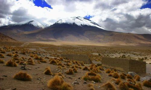 Zdjęcie BOLIWIA / CANQUELA / CANQUELA / WULKANY