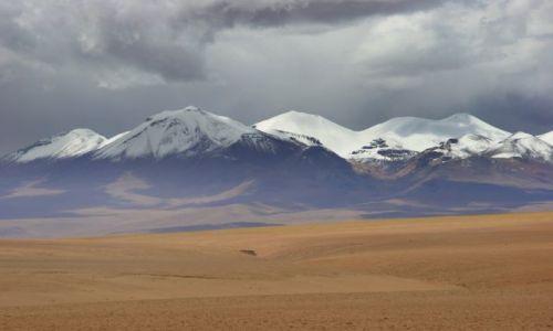 Zdjęcie BOLIWIA / Canquela / Canquela / Na  pustyni
