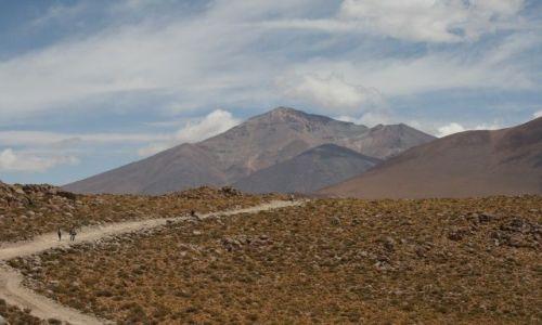 Zdjecie BOLIWIA / Aliplano / okolice wulkanu Ollaque / Spacer na wysokosci /ok 4500m.n.p.m./