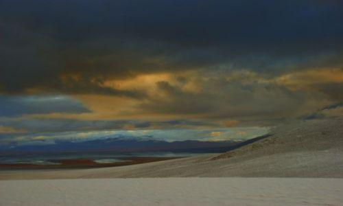 BOLIWIA / RUPUTUNCU / RUPUTUNCU / Poranek  na pustyni
