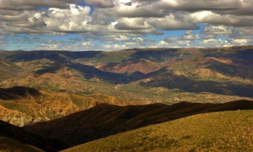 Zdjęcie BOLIWIA / Tupiza / Tupiza / Kolor ziemi