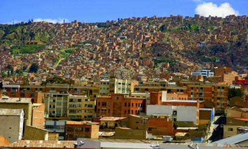 Zdjęcie BOLIWIA / La Paz / La Paz / La Paz