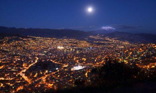 Zdjęcie BOLIWIA / La Paz / La Paz / magiczne miasto