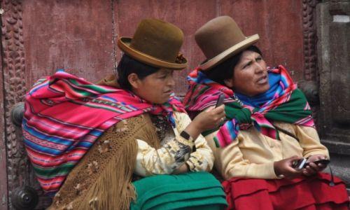 Zdjecie BOLIWIA / La Paz / La Paz / Do kogo jeszcze zadzwonić ?