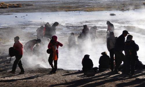 Zdjęcie BOLIWIA / Altiplano / Altiplano / Gorące zródła