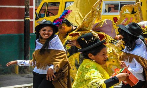 Zdjęcie BOLIWIA / oruro / oruro / pre-karnawal w oruro