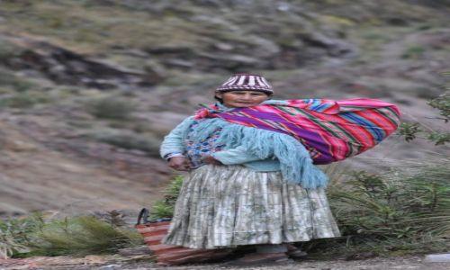 Zdjecie BOLIWIA / Quime / Boliwia / Indianka -Konkurs