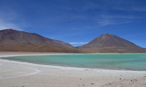 Zdjecie BOLIWIA / Potosi / Altiplanto / Laguna Verde