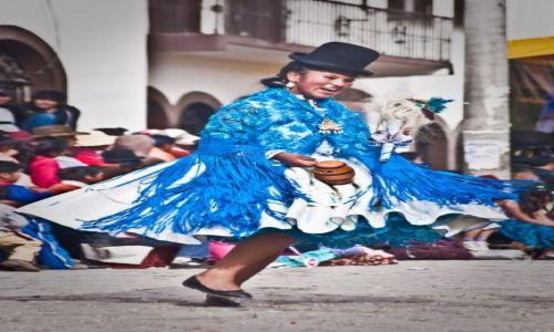 Zdjecie BOLIWIA / Isla del Sol / Copacabana / Radość Świętowania