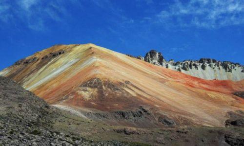 Zdjecie BOLIWIA / solar de uyuni / solar de uyuni / Wulkany na pustyni solnej