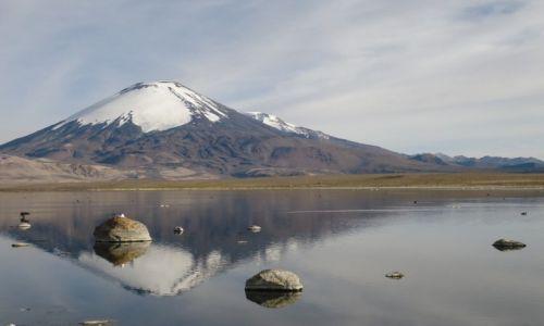 Zdjęcie BOLIWIA / Oruro / Paso Chungará-Tambo Quemado / Sajama