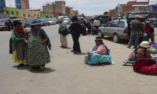 Zdjęcie BOLIWIA / Oruro / Patacamaya / Uliczna scenka