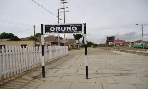 Zdjęcie BOLIWIA / Oruro / Oruro / Na stacji