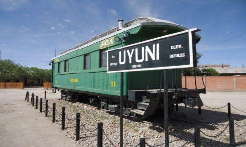 Zdjęcie BOLIWIA / Potosi / Uyuni / Na stacji ...