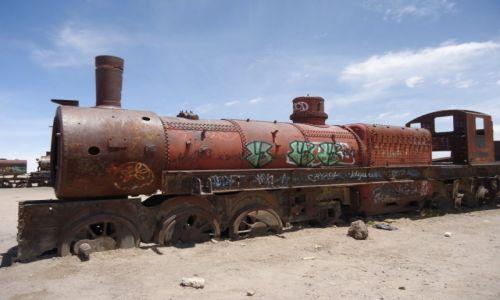Zdjęcie BOLIWIA / Potosi / Uyuni / Cmentarz pociągów (2)