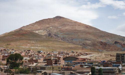 Zdjecie BOLIWIA / Potosi / Potosi / Cerro Rico