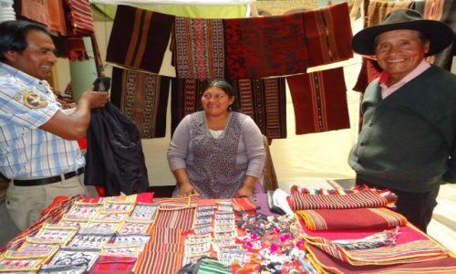 Zdjęcie BOLIWIA / Chuquisaca / Sucre / Z makatkami ....