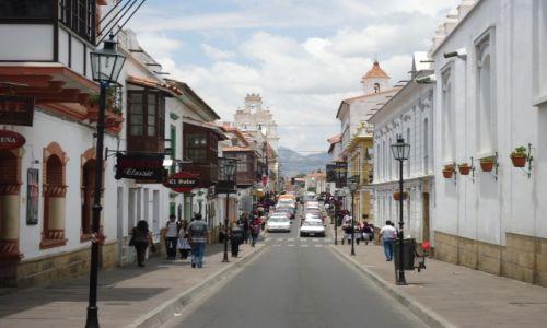 Zdjęcie BOLIWIA / Chuquisaca / Sucre / Kolonialne miasto