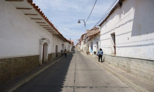 Zdjęcie BOLIWIA / Chuquisaca / Sucre / Kolonialne uliczki
