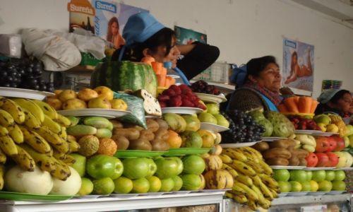 Zdjęcie BOLIWIA / Chuquisaca / Sucre / Owoce