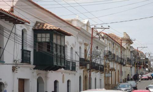 Zdjęcie BOLIWIA / Chuquisaca / Sucre / Na ulicy