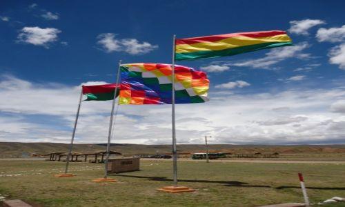 Zdjecie BOLIWIA / La Paz / Tiwanaku (Tiahuanako) / Tęczowo ....