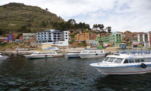 Zdjęcie BOLIWIA / La Paz / Copacabana / Copacabana (port)
