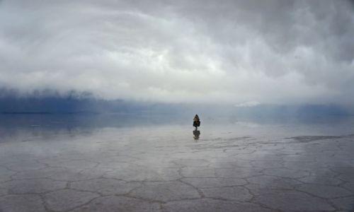 Zdjecie BOLIWIA / Ujuni / Salar / O krok od śmierci