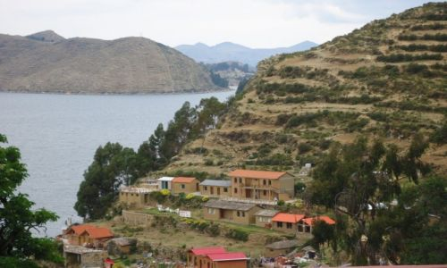 Zdjęcie BOLIWIA / La Paz / Isla del Sol / Krajobraz