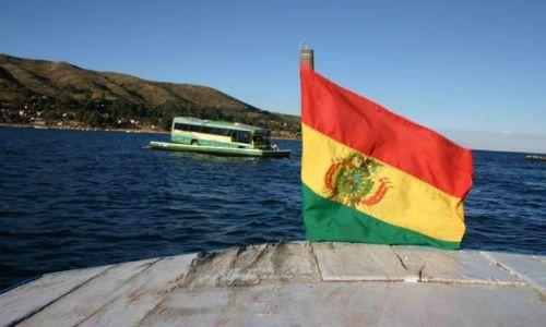 Zdjecie BOLIWIA / brak / Jezioro Titicaca / Przeprawa a'la