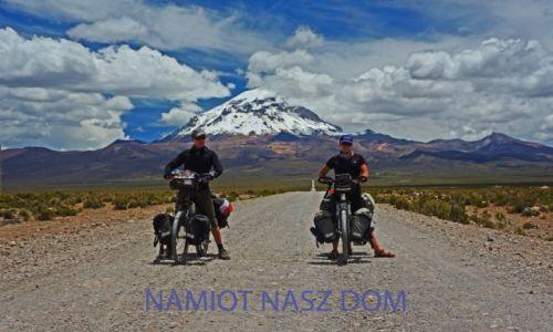 Zdjecie BOLIWIA / Boliwia- / Boliwia / Wulkan Sajama Namiot nasz dom