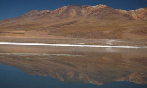 Zdjęcie BOLIWIA / brak / Okolice Uyuni przy granicy z Chile / Laguna
