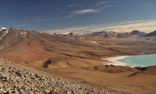 Zdjęcie BOLIWIA / Potosi, Uyuni / Licancabur / Widok ze zbocza wulkanu Licancabur.