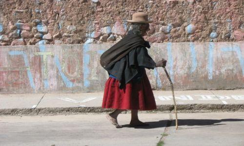 Zdjecie BOLIWIA / - / La Paz / Bez laczków