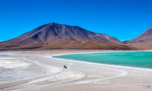 Zdjecie BOLIWIA / Altiplano / Zielona Laguna / Magiczna Boliwia